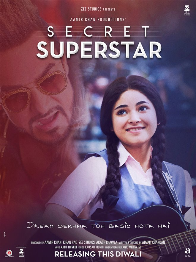 Secret Superstar (Hindi w/e.s.t.) Photo 2 - Large