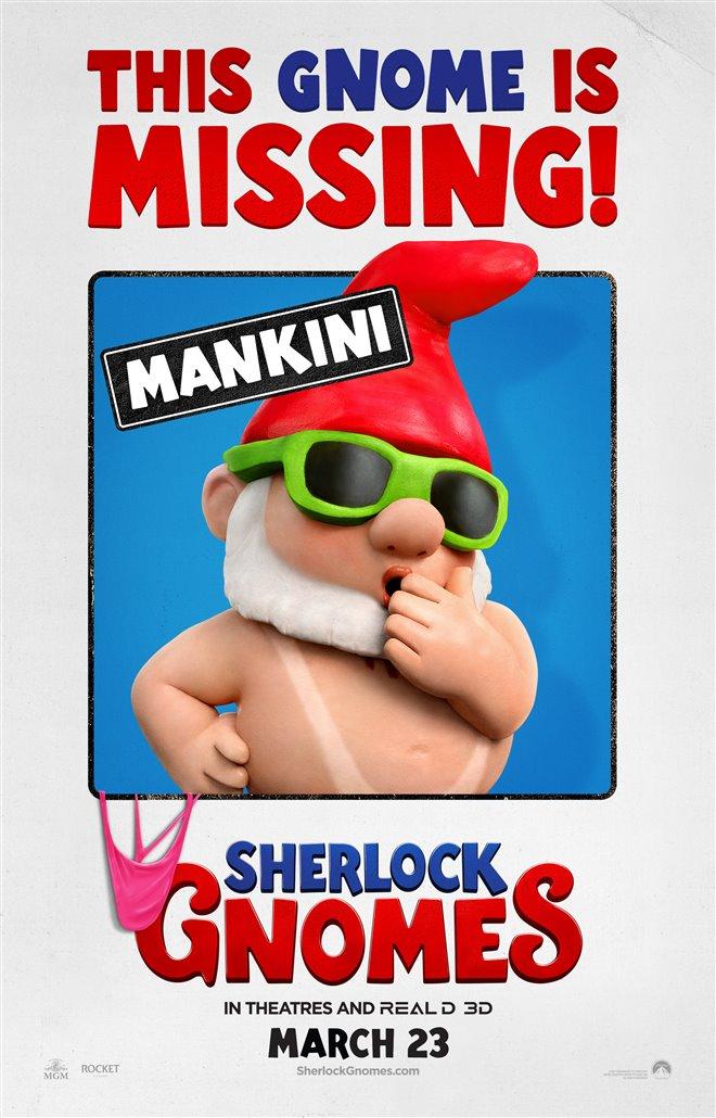 Sherlock Gnomes Photo 31 - Large