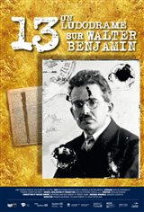 13, a Ludodrama about Walter Benjamin Movie Poster