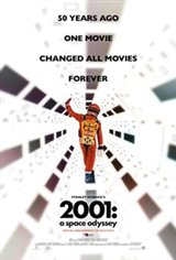 2001: A Space Odyssey (70mm re-release) Large Poster