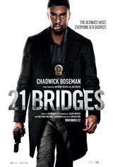 21 Bridges Movie Poster Movie Poster