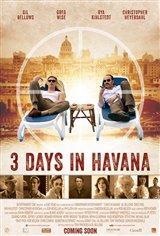3 Days in Havana Movie Poster