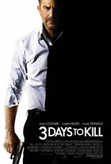 3 Days to Kill Large Poster
