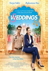 5 Weddings Large Poster