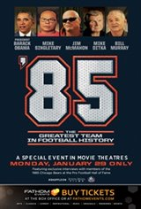'85: The Greatest Team in Football History Movie Poster