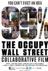 99% - The Occupy Wall Street Collaborative Film Movie Poster