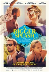 A Bigger Splash Movie Poster