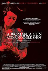 A Woman, a Gun and a Noodle Shop Large Poster