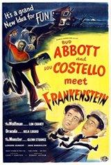 Abbott & Costello Meet Frankenstein Movie Poster