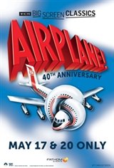 Airplane! (1980) 40th Anniversary presented by TCM Movie Poster