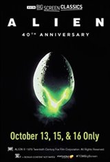 Alien 40th Anniversary (1979) presented by TCM Large Poster