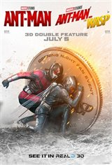 Ant-Man + Ant-Man and The Wasp 3D Double Feature Movie Poster