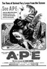 Ape (3D) Movie Poster