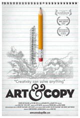 Art & Copy Large Poster