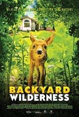Backyard Wilderness 3D Large Poster