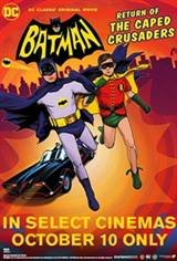 Batman: Return of the Caped Crusaders Movie Poster