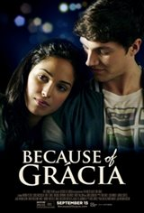 Because Of Grácia Large Poster