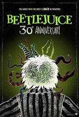 Beetlejuice 30th Anniversary Movie Poster