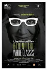 Behind the White Glasses (Dietro gli Occhiali Bianchi) Large Poster