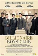 Billionaire Boys Club Movie Poster