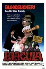 Blacula Movie Poster