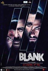 Blank (Hindi) Large Poster