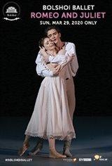 Bolshoi Ballet: Romeo and Juliet Movie Poster