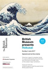 British Museum presents: Hokusai Movie Poster