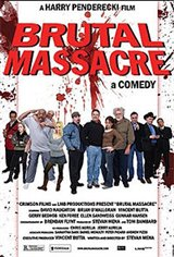 Brutal Massacre: A Comedy Movie Poster