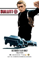 Bullitt 50th Anniversary Movie Poster