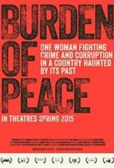 Burden of Peace Movie Poster