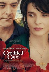 Certified Copy  Movie Poster