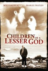 Children of a Lesser God Movie Poster