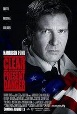 Clear and Present Danger Movie Poster