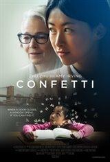 Confetti Large Poster
