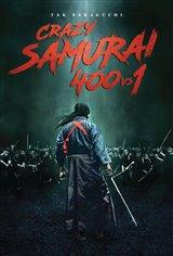 Crazy Samurai: 400 vs 1 Movie Poster