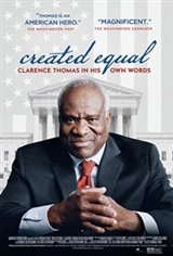 Created Equal: Clarence Thomas in His Own Words Large Poster