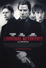 Criminal Activities Movie Poster