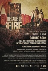 Decade of Fire Large Poster