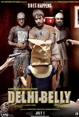 Delhi Belly Large Poster