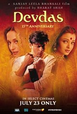 Devdas 15th Anniversary Movie Poster