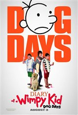 Diary of a Wimpy Kid: Dog Days Movie Poster Movie Poster