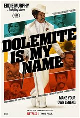 Dolemite is My Name (Netflix) Movie Poster