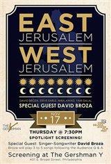 East Jerusalem/West Jerusalem Large Poster