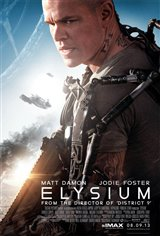Elysium Movie Poster Movie Poster