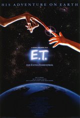 E.T. The Extra-Terrestrial Large Poster