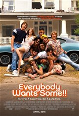 Everybody Wants Some!! Movie Poster