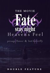 Fate/stay night [Heaven's Feel] 1 & 2 - Double Feature Large Poster