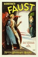 Faust (1926) Movie Poster