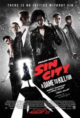 Frank Miller's Sin City: A Dame to Kill For Movie Poster